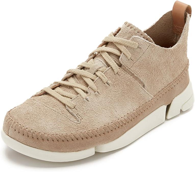 Cambio Dormido Deducir  Amazon.com | CLARKS Men's Suede Trigenic Flex Sneakers | Fashion Sneakers