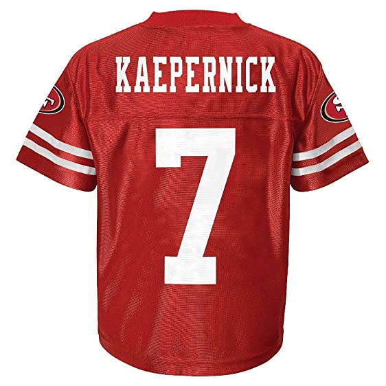 2dcdab88a Colin Kaepernick San Francisco 49ers Red Home Player Jersey Youth (XS 45)  Majestic NFL ...