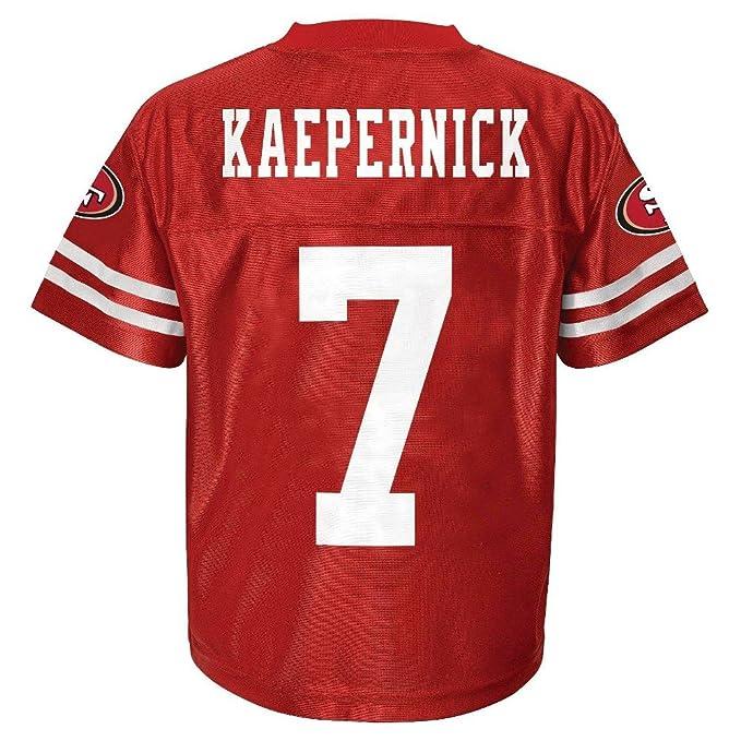cdbd4e0d9 Colin Kaepernick San Francisco 49ers Red Home Player Jersey Youth (Medium 8)