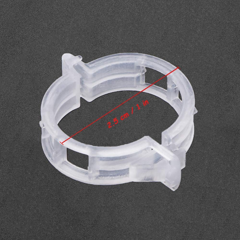 Kalolary 100 PCS Tomato Plant Clips Support Garden Clips Clamps for Vine Vegetables