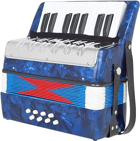 N/a Instrumento de teclado de acordeón de Piano de 17 teclas ...