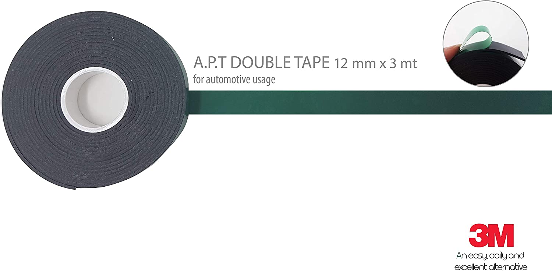 quattroerre 1468/doble cara 3/M APT 1500/pura potencia adhesivo H 12/mm x 3/mt