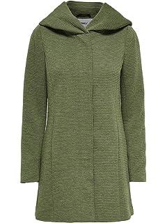 71bf901d97de5d ONLY Damen Onlsedona Light Melange Coat Cc OTW Mantel: Amazon.de ...