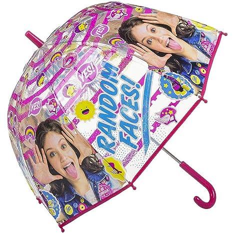 Código promocional vívido y de gran estilo grandes ofertas Kids Soy Luna Paraguas Clásico, 69 cm, Rosa