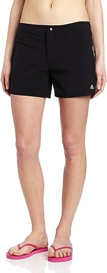 Stripe Solid Woven Swim Shorts