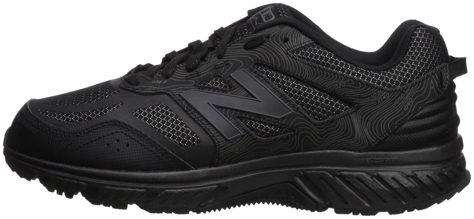 New Balance Men's 510v4 Cushioning Trail Running Shoe, Black, 7 D US by New Balance (Image #5)