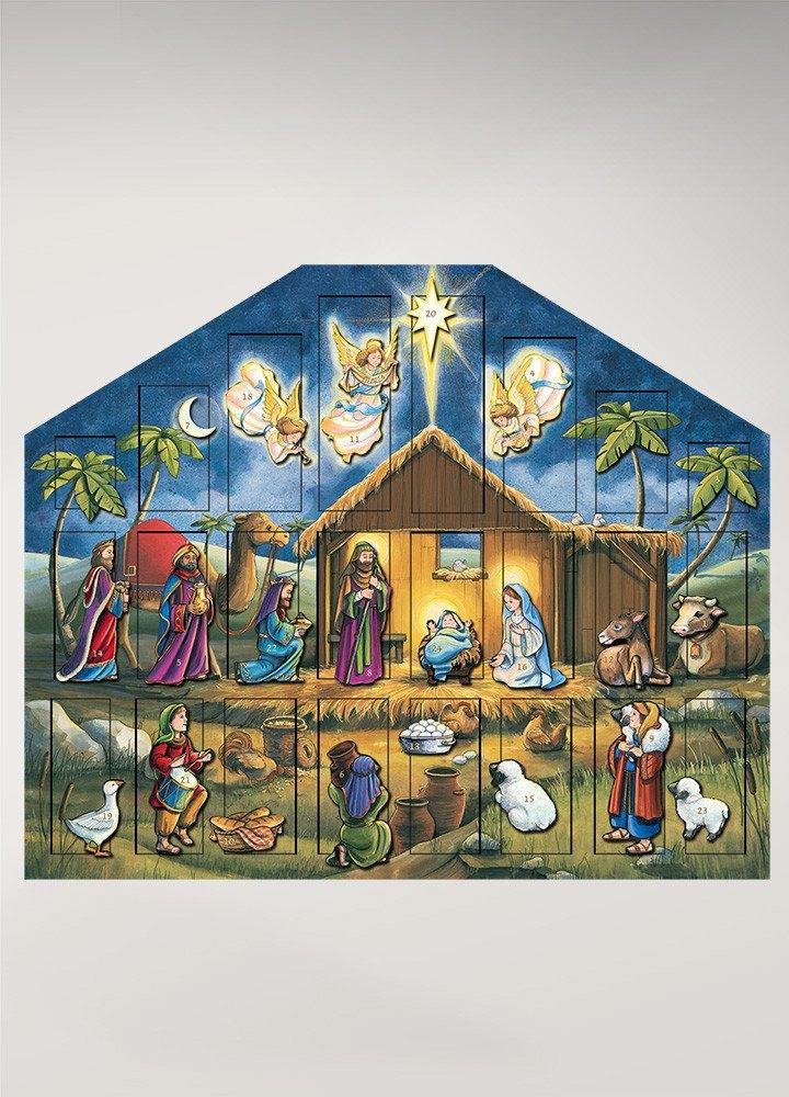 Byers' Choice Nativity Musical Advent Calendar (MC05)