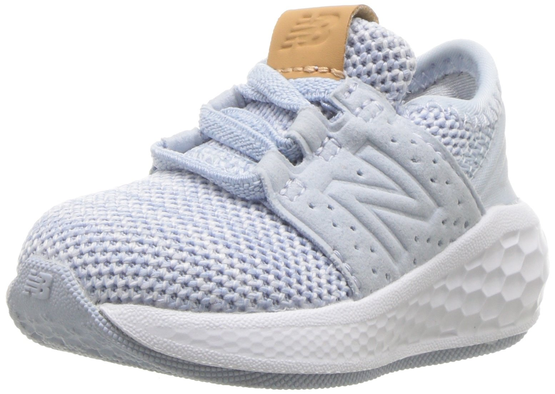 New Balance Girls' Cruz V2 Fresh Foam Running Shoe ice Blue 2 M US Infant