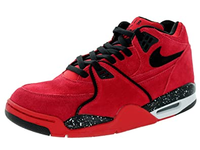 sale retailer b1fb9 dd83c ... sweden nike mens air flight 89 gym red black white 52a6d 286bd