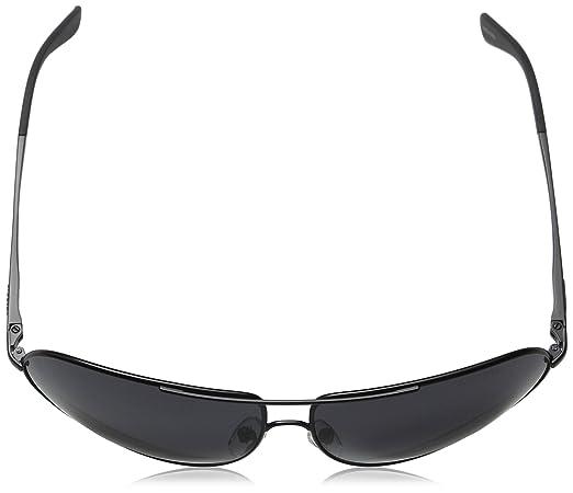 6314c0ec5067 Amazon.com: Carrera New Gipsy/s Aviator Sunglasses, Matte Black/Gray  Gradient, 64 mm: Clothing