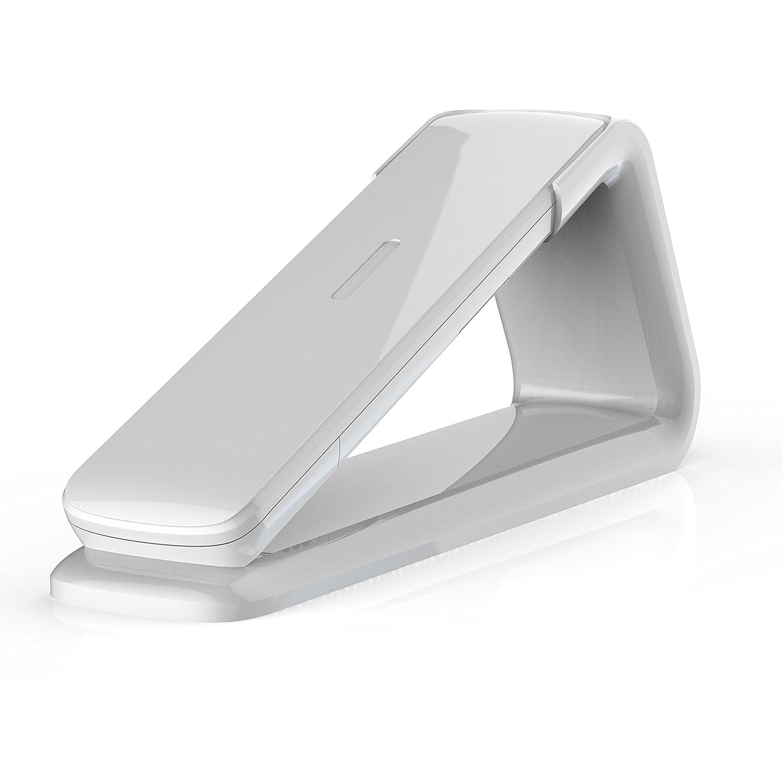 AEG Lloyd 15 - Teléfono inalámbrico Design DECT con contestador, Manos Libres y función de bloqueos de Llamadas, Color Blanco