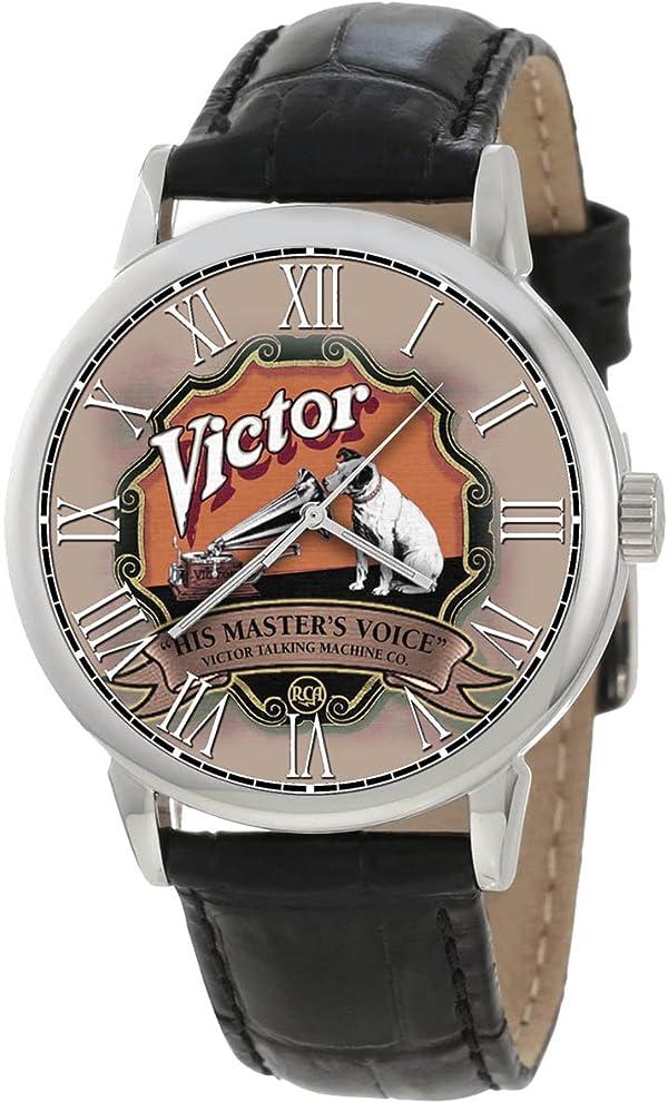 ヴィンテージビクトローラHMV蓄音機コレクター40ミリメートル腕時計