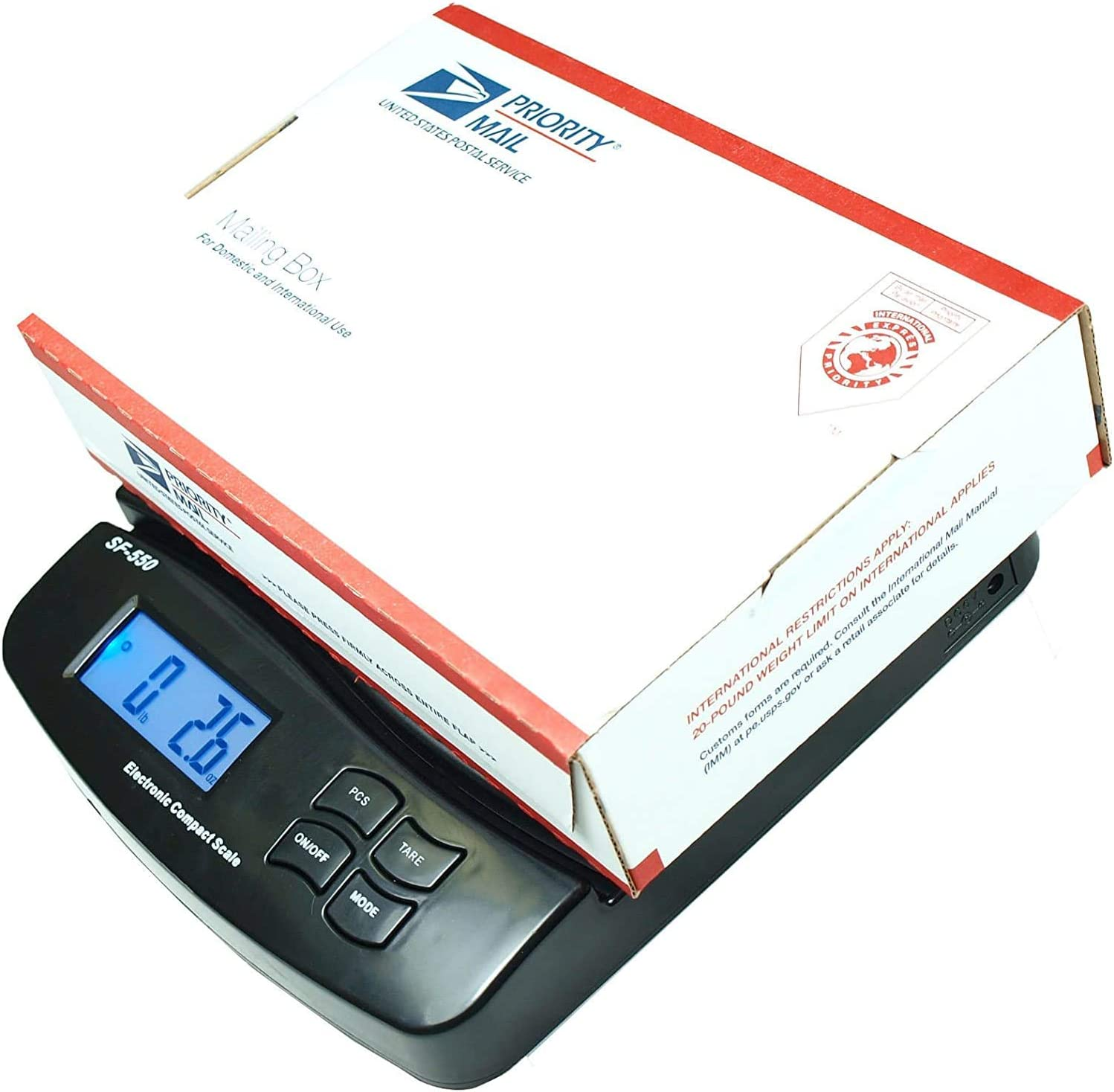 Digital Postal Scale//Shipping Scale 25-Pound-New