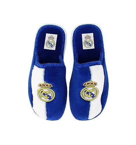 Andinas - Zapatillas de casa Real Madrid Oficial: Amazon.es: Zapatos y complementos