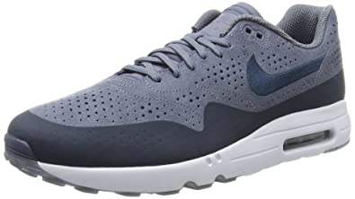 pas mal 65314 e9645 Nike Air Max 1 Ultra 2.0 Moire, Chaussures de Running Homme ...