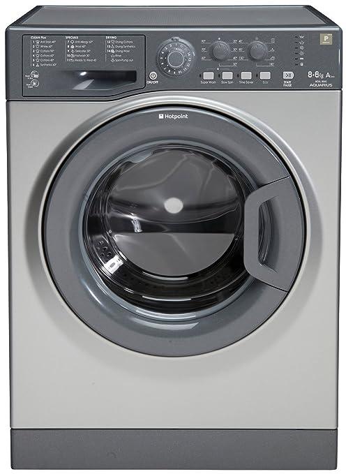 Hotpoint WDAL8640G Independiente Carga frontal A Grafito lavadora ...
