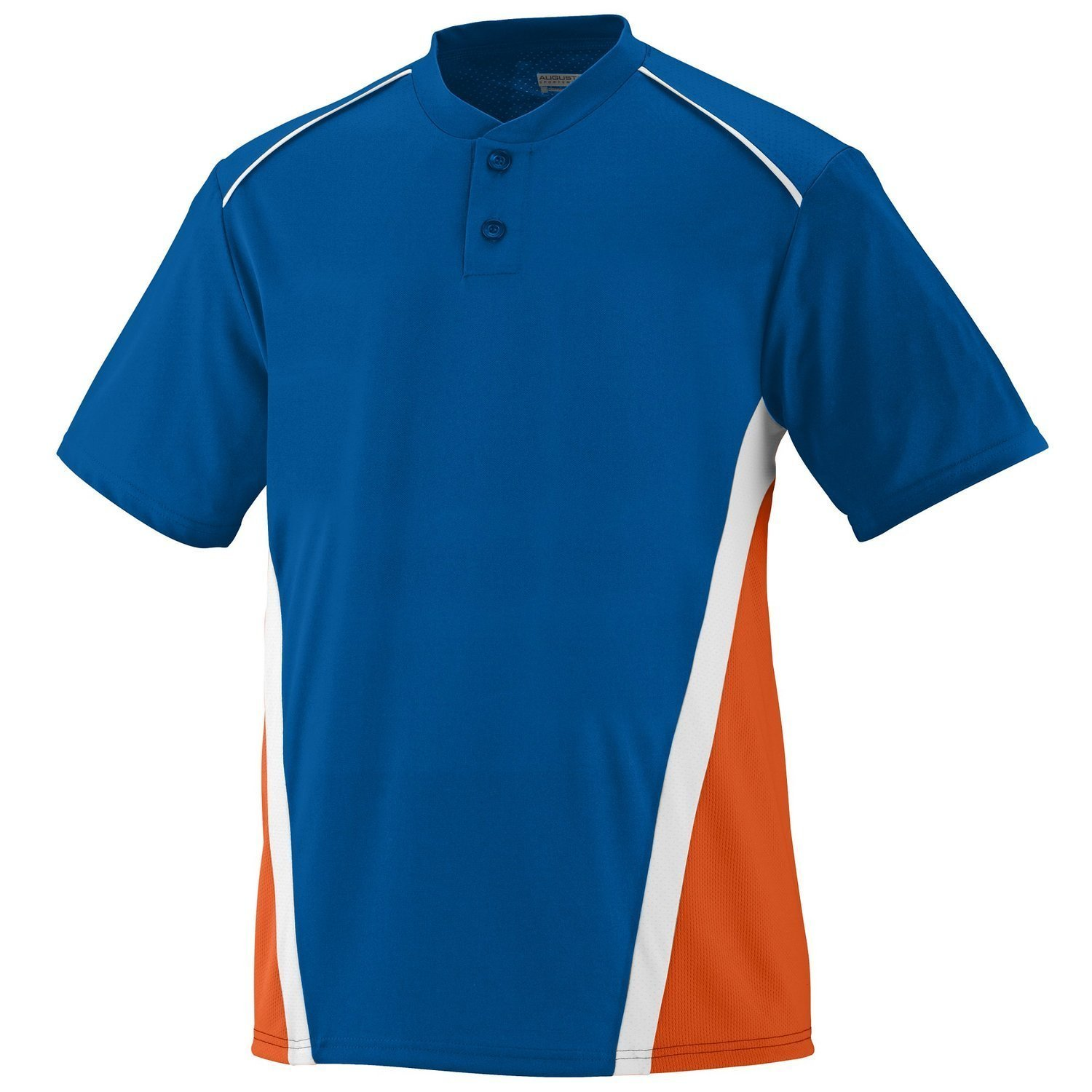 Augusta SportswearメンズRBI野球ジャージー B00IWLYBCM Medium|Royal/Orange/White Royal/Orange/White Medium