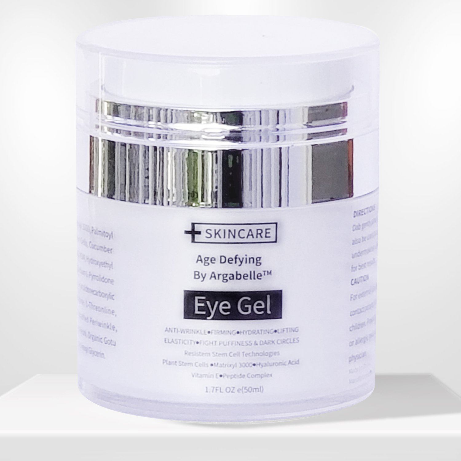 Eye Gel for Dark Circles, Puffiness, Wrinkles and Bags - The Most Effective Anti-Aging Eye Gel for Under and Around Eyes. - 1.7 fl. oz