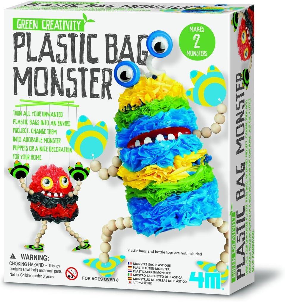 4 M Bolsa de plástico Monster Kit: Amazon.es: Juguetes y juegos