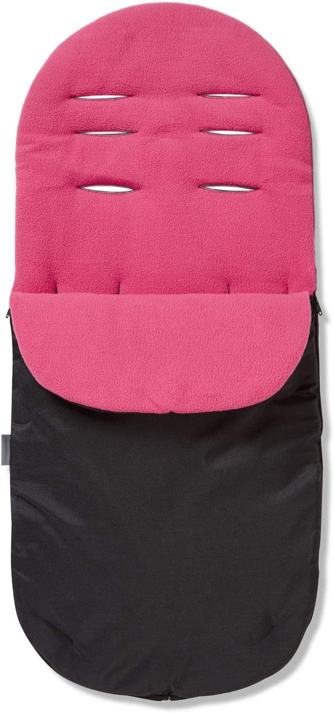 Dark Pink Footmuff//Cosy Toes Compatible with Jane Slalom Pro