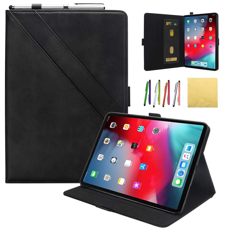 Coopts iPad Apple Pro iPad 12.9 2018 ビジネスケース Coopts ビンテージレザー フリップフォリオスタンド スマートカバー カードスロット&鉛筆ホルダー&マグネット開閉&自動スリープ/ウェイク Apple iPad Pro 12.9インチ2018用 Coopts -0808 01# Black B07KS3JHTP, アウトドア&輸入雑貨 レプマート:a88ba4ae --- 2chmatome2.site