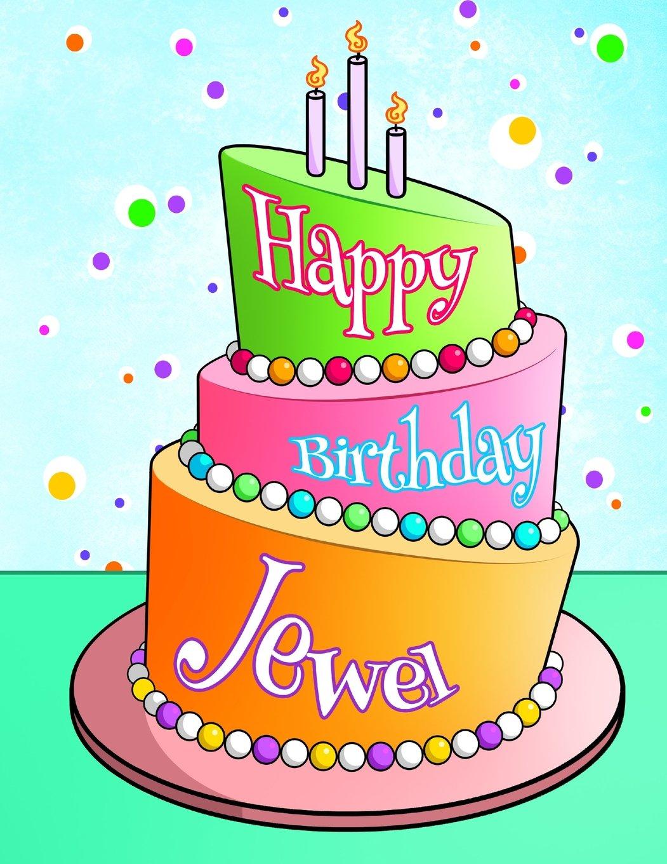 Fantastic Happy Birthday Jewel Personalized Birthday Book With Name Funny Birthday Cards Online Unhofree Goldxyz