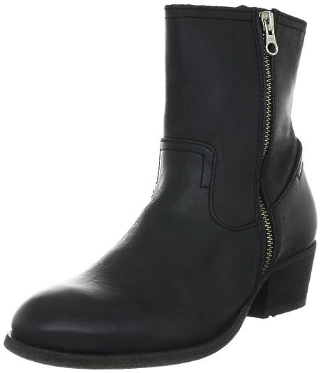 Hudson Riley, Botines tacón para Mujer, Negro, 39 EU: Amazon.es: Zapatos y complementos
