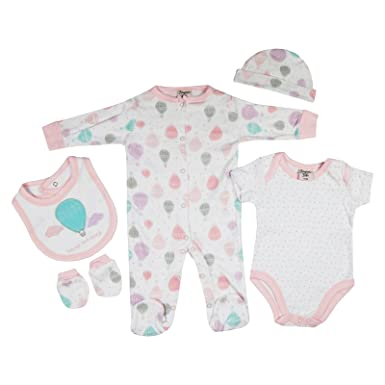 Presents Gifts for Newborn Baby Boys Girls Toddler Unisex Cute Clothing Sets  0-3 Months e6e13ea2afd0