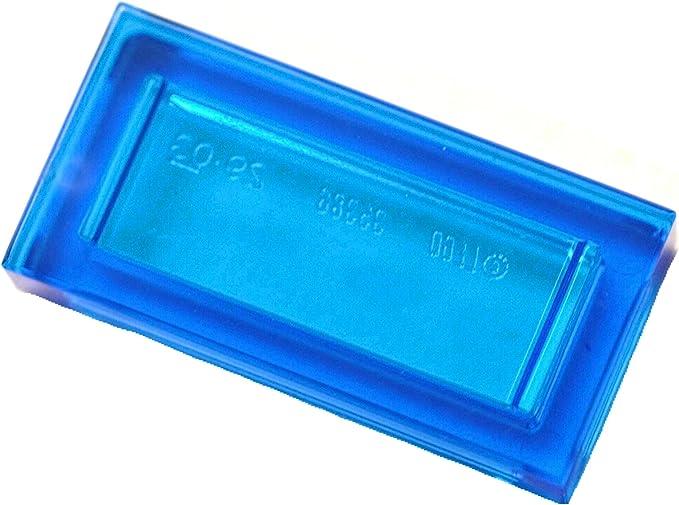 Parts 6273627 10 x Lego Transparent Blue FLAT TILE 1X1 ROUND