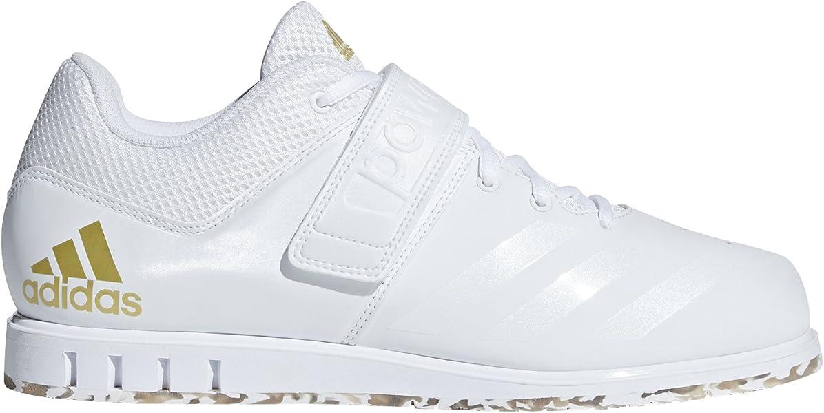 6d088eaf5946 adidas Men s Powerlift.3.1 Cross Trainer White Gold Metallic