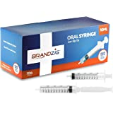 10ml Oral Syringes - 100 Pack – Luer Slip Tip, No Needle, FDA Approved, Individually Blister Packed- Medicine Administration for Infants, Toddlers and Small Pets