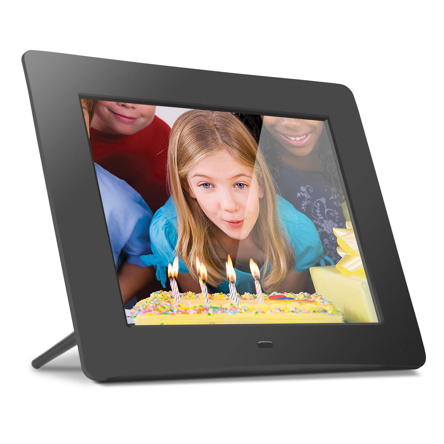 Aluratek (ADMPF108F) 8'' Hi-Res Digital Photo Frame with 4GB Built-In Memory (800 x 600 Resolution), Photo/Music/Video Support by Aluratek