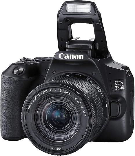 EOS 250D - Cámara réflex Digital con Lente Canon EF-s 18-55 mm f/4 ...