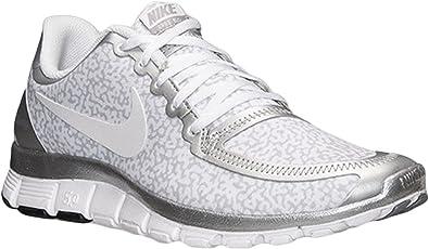 Amazon.com: Nike Free 5.0 V4 Zapatillas de running mujer ...