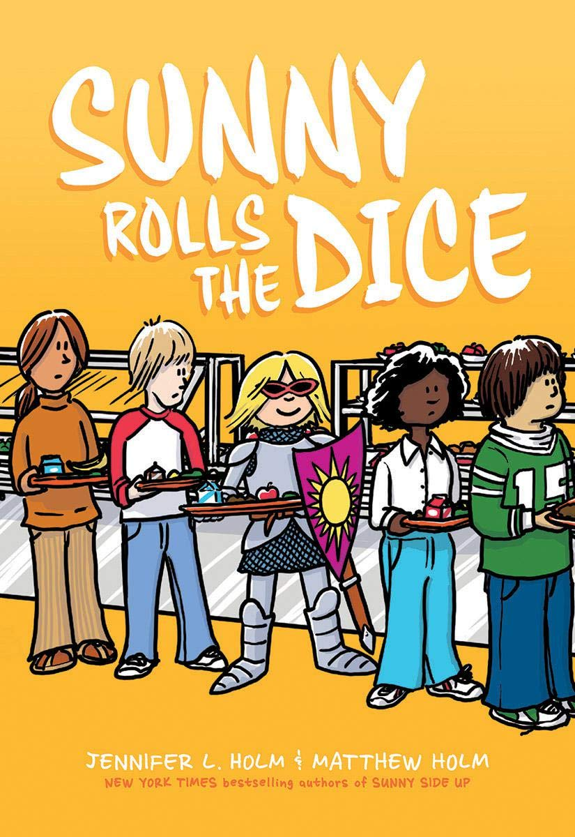 Image result for sunny rolls the dice