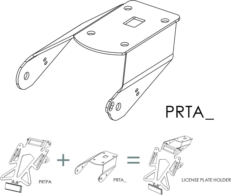 VALTER MOTO COMPONENTS PRTAK08 Kit Porta Targa