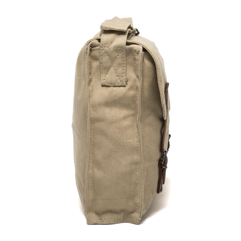 Olive /& Black Grab A Smile Smokey Bear Heavyweight Canvas Medic Shoulder Bag
