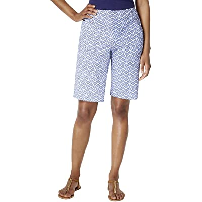 Charter Club Printed Twill Shorts at Women's Clothing store