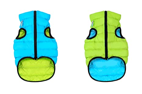 AiryVest Dog Jacket - Green/Blue, Small35