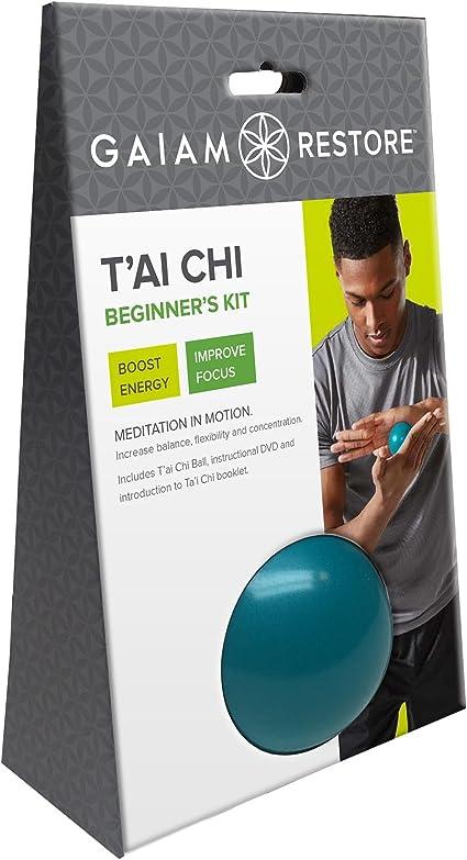 Amazon.com: Gaiam – restaurar T ai Chi Kit para ...