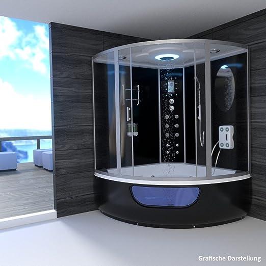 troni técnica Vapor ducha montado ducha Vapor Sauna Whirlpool ...