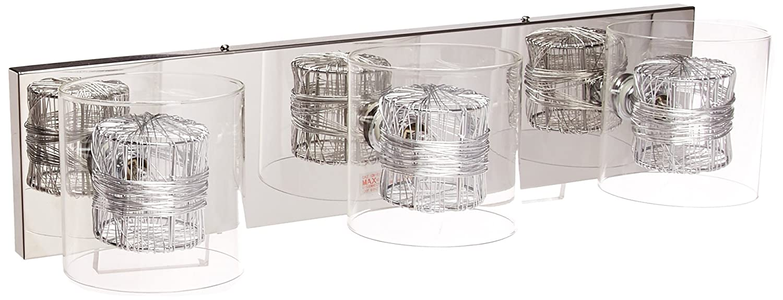 Possini Euro Design Wrapped Wire 22 Wide Bathroom Light Vanity