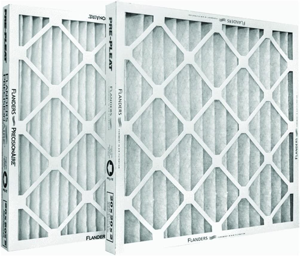 Precisionaire Furnace Filter 16  X 20  X 2  Pleated Merv 8