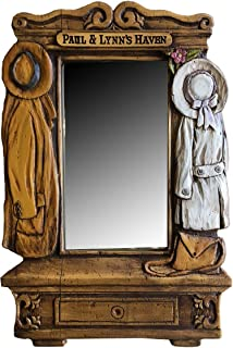 product image for Piazza Pisano Hall Carved Custom Mirror