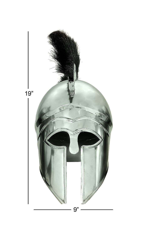 Benzara Metal Helmet a Pre Christian Era Knight Helmet