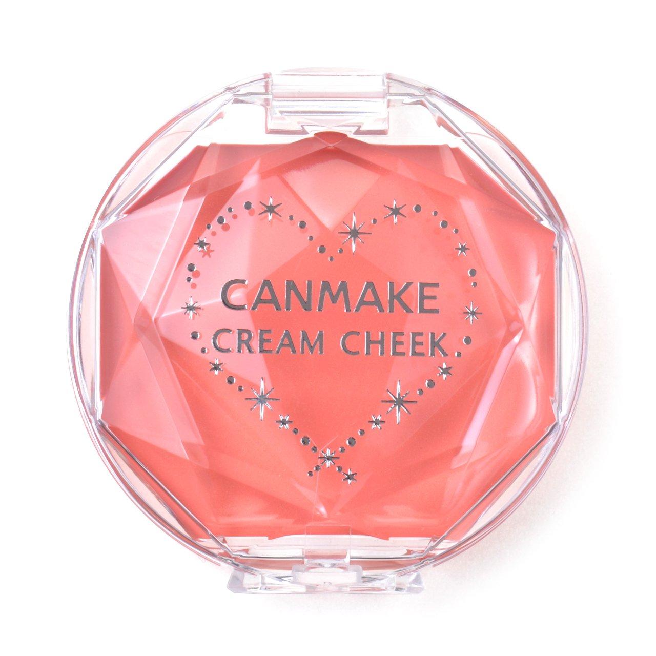 CANMAKE Cream Cheek, 07 Coral Orange, 1 Ounce 4901008303789