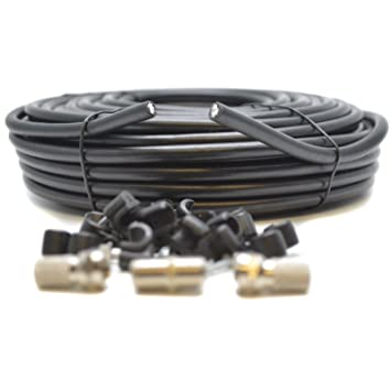 Generic - Cable coaxial para TV Sky Plus HD (4 unidades, 50 m)