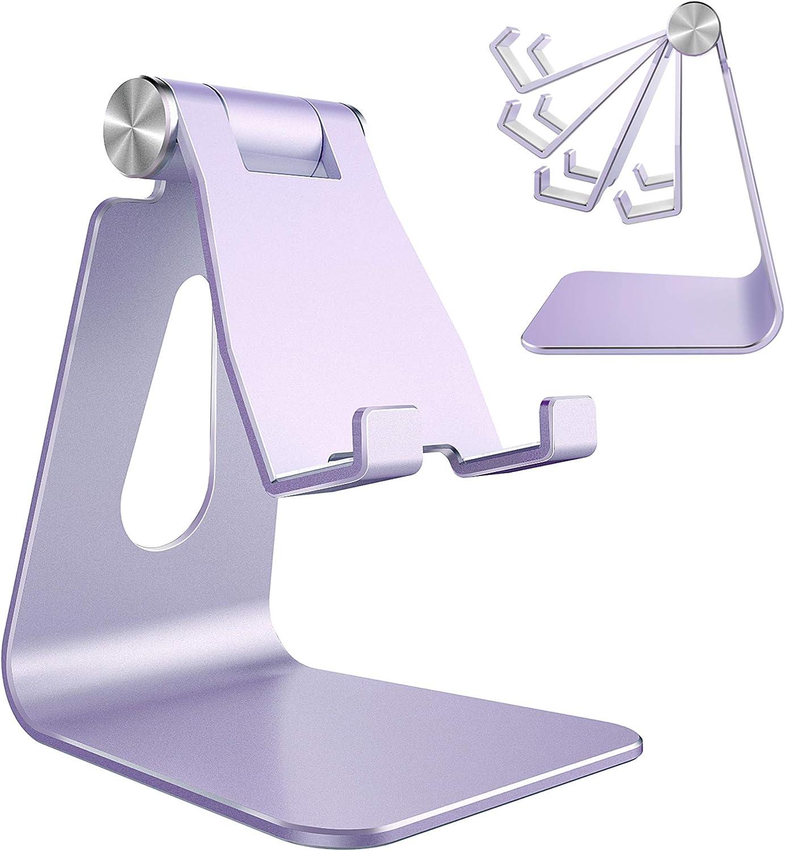 Soporte de aluminio p/ smat phone,, Ajustrable  Púrpura