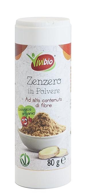 7 opinioni per Vivibio Zenzero in Polvere- 2 pezzi da 80 g [160 g]