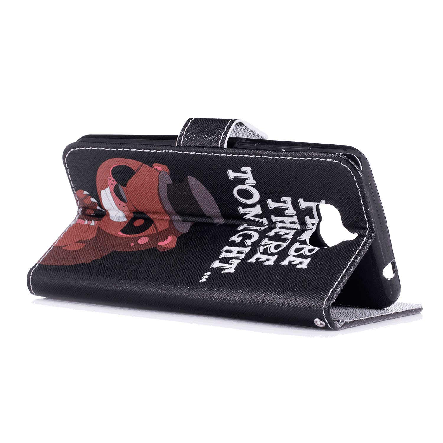 Huawei P10 Flip Case Cover for Huawei P10 Leather Extra-Durable Business Kickstand Mobile Phone Cover Card Holders with Free Waterproof-Bag Business